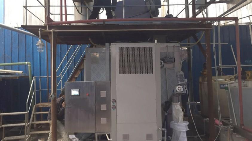 重庆圣华曦药业污泥低温干化机应用