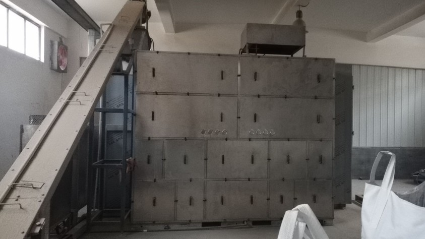 陕西奥瑞金污泥低温干化机应用