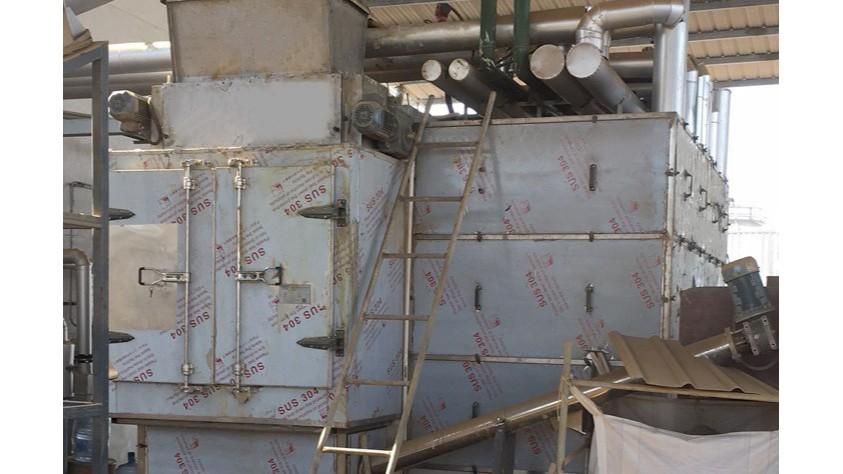 江西三元药业污泥低温干化设备