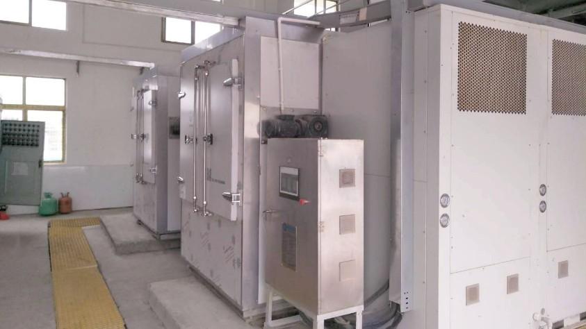 陕西渭南大荔污泥低温干化机应用