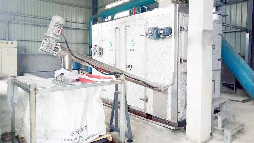 福建春达化工污泥干化系统应用