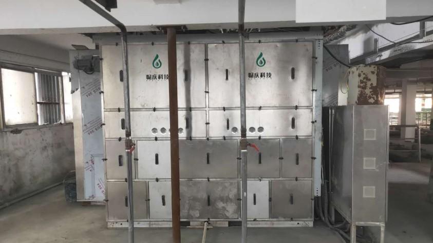 太仓锦飞电镀污泥低温干化机应用