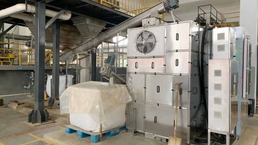 常德力元污泥低温干化机应用