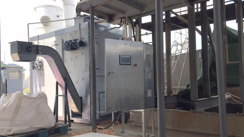 污泥低温带式干燥机下料时的注意点