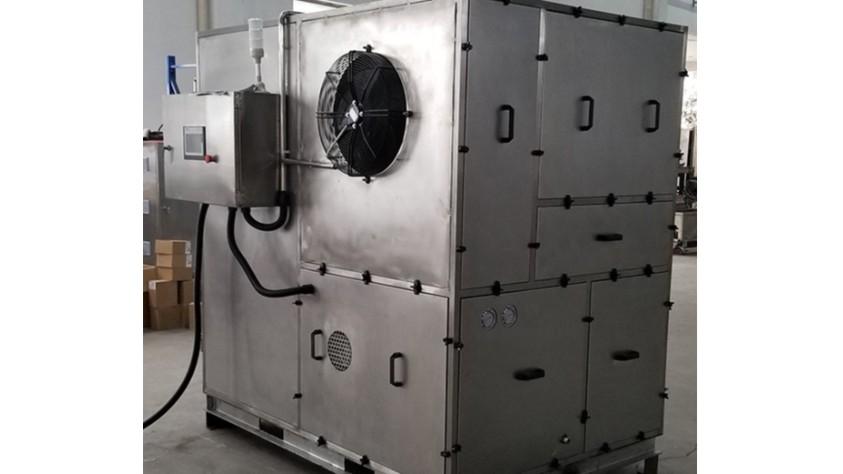 江阴双菱污泥低温干化设备应用