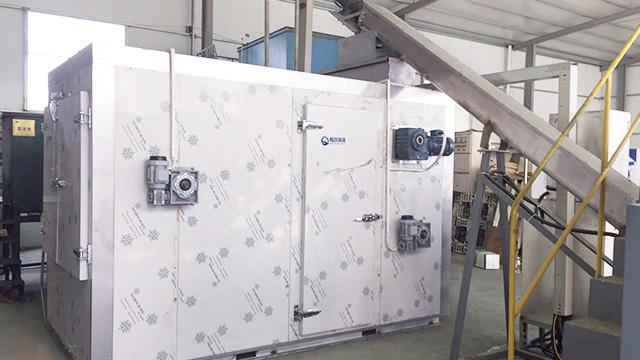 畅庆环保分享污泥干化机设备正确的安装及操作模式!