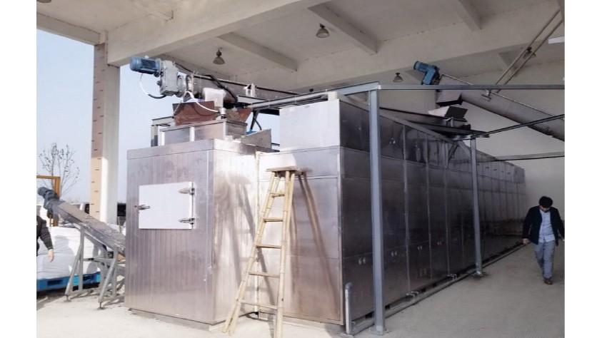 低温加热干燥技术处理污泥