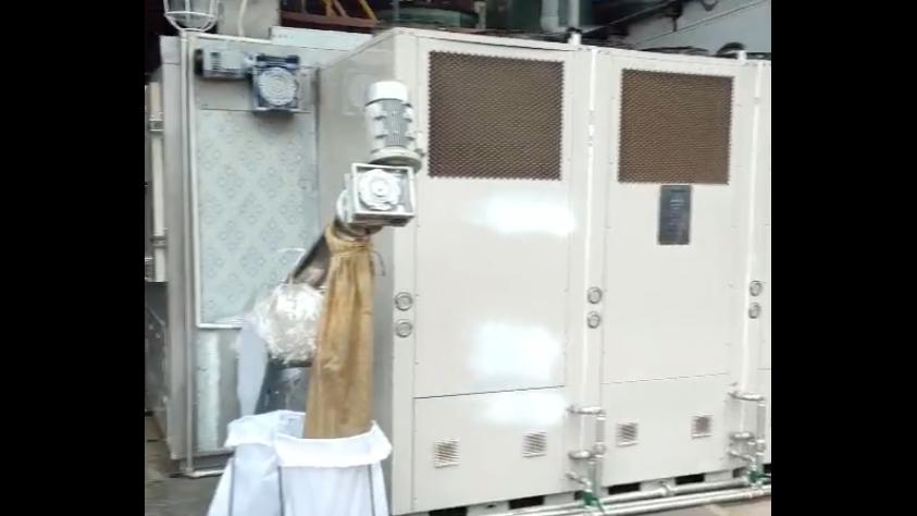 重庆常捷医药污泥低温干化机应用