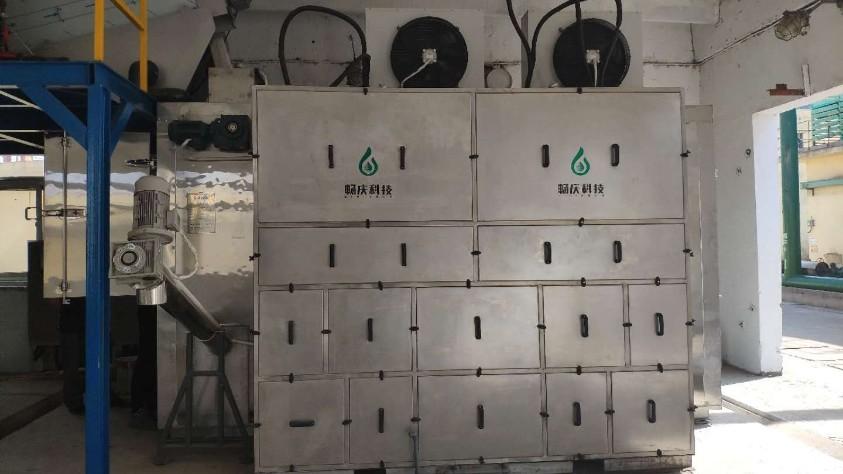 江苏九九久污泥低温干化机应用